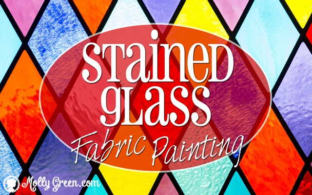 painting stained glass t-shirts