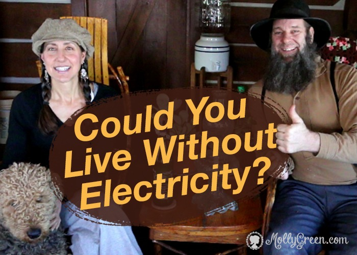Living Without Electricity Off Grid with Doug and Stacy