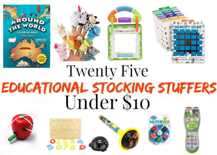 Educational Stocking Stuffers Under $10 For Young Kids