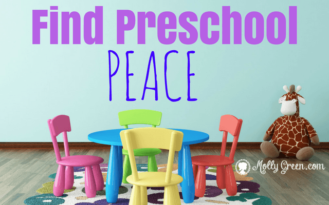 Preschool Pressure or Preschool Peace?