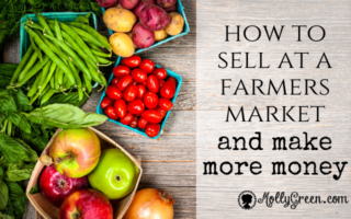 How to Sell at a Farmers Market and Make More Money